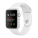 Часы Apple Watch 2 Sport 38mm Silver Aluminum White Sport Band (MNNW2)