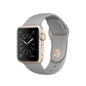Часы Apple Watch 2 Sport 38mm Gold Aluminum Concrete Sport Band (MNP22)