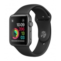 Часы Apple Watch 2 Sport 42mm Space Gray Aluminum Black Sport Band (MP062)