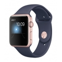 Часы Apple Watch 2 Sport 42mm Rose Gold Aluminum Midnight Blue Sport Band (MNPL2)