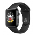 Часы Apple Watch 2 38mm Stainless Steel Space Black Black Sport Band (MP492)