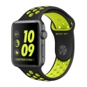 Часы Apple Nike+ 42mm Space Gray Aluminum Black/Volt Nike Sport Band (MP0A2)