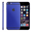 Корпус для iPhone 6S Apple Original Blue Matte with Black Logo (Black)
