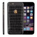 Корпус для iPhone 6S Apple Original Black Leather Edition with Gold Logo (Black)