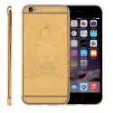 Корпус для iPhone 6 Apple Original Gold Chrome MacLove Design, Leopard (Black)