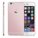 Корпус для iPhone 6 Apple Original Pink Matte with Chrome Logo (White)