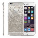 Корпус для iPhone 6 Apple Original Gold Chrome Swarovski Tracery (White)