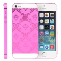 Корпус для iPhone 5 Apple Original Hot Pink Tracery (Black/White)