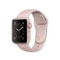 Часы Apple Watch Series 1 Sport 38mm Rose Gold Aluminum Pink Sand Sport Band (MNNH2)