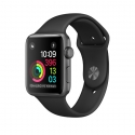 Часы Apple Watch Series 1 Sport 38mm Space Gray Aluminum Black Sport Band (MP022)