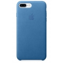 Acc. Чехол-накладка для iPhone 7 Plus/8 Plus Apple Case (Кожа) (Синий) (MMYH2ZM)