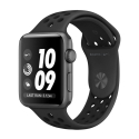 Часы Apple Nike+ 42mm Space Gray Aluminum Anthracite/Black Nike Sport Band (MQ182)