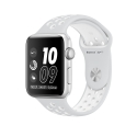 Часы Apple Watch Series 2 42mm Aluminum Nike+ Pure Plat/White Sport Band (MQ192)