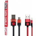 Асс. Кабель Joyroom Data Cable Lightning (Black/Red) (3m)