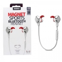 Acc. Bluetooth гарнитура Remax Magnet Sports Bluetooth Headset Silver