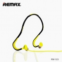 Acc. Наушники с микрофоном Remax Sports Wired Headset Black/Green (S15)