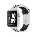 Часы Apple Watch Series 3 38mm Aluminum Nike+ Pure Platinum/BlackSport Band (MQKX2)