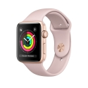 Часы Apple Watch Series 3 38mm Aluminum Pink Sand Sport Band (MQKW2)