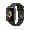 Часы Apple Watch Series 3 42mm Aluminum Grey Sport Band (Used) (MR362)