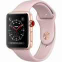 Часы Apple Watch Series 3 42mm Aluminum Pink Sand Sport Band (MQK32)