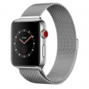 Часы Apple Watch Series 3 42mm Stainless Steel Milanese Loop (MR1J2)