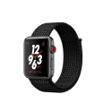 Часы Apple Watch Series 3 42mm Aluminum Nike+ Black/Pure Platinum Loop (MQLF2)