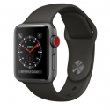 Часы Apple Watch Series 3 38mm Aluminum Gray Sport Band (MR2W2)
