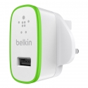 Асс. Сетевое ЗУ Belkin Home Charger 1 USB port White