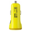 Acc. Автомобильное ЗУ Baseus Dual USB Car Charger 2.1A+1A Yellow (CCALL-CR0R)