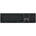 Клавиатура Apple Magic Keyboard with Numeric Keypad Black (MRMH2)