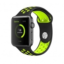 Ремешок TGM Nike Sport 42mm Black/Green