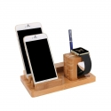 Асс. Подставка для iPhone TGM USB Charging Stand Brown