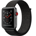 Часы Apple Watch Series 3 42mm Aluminum Black Sport Loop (MRQF2)