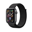 Часы Apple Watch Series 4 40mm Aluminum Black Sport Loop (MU672)