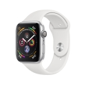 Часы Apple Watch Series 4 44mm Aluminum White Sport Band (MU6A2)