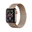 Часы Apple Watch Series 4 44mm Stainless Steel Gold Milanese l. Gold Steel (MTV82)