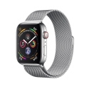 Часы Apple Watch Series 4 40mm Stainless Steel Milanese l. Steel (MTUM2,MTUQ2)
