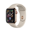 Часы Apple Watch Series 4 44mm Stainless Steel Stone Sport band (MTV72,MTX42)