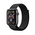 Часы Apple Watch Series 4 40mm Aluminum BlackSport Loop (MTUH2)