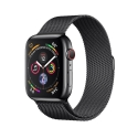 Часы Apple Watch Series 4 40mm Stainless Steel Black Milanese l. Black Steel (MTUQ2)