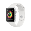 Часы Apple Watch Series 3 42mm Aluminum White Sport Band (MTF22)