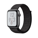 Часы Apple Watch Series 4 44mm Aluminum Nike+ Black Nike Sport loop (MU7J2)