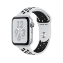 Часы Apple Watch Series 4 40mm Aluminum Nike+ Platinum/Black Nike Sport Band (MU6H2)