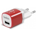 Асс. Сетевое ЗУ Belkin Home Charger Red