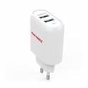 Асс. Сетевое ЗУ Marakoko Dual USB Wall Charger + Lightning Cable White (MA16)