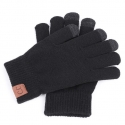 Перчатки MAKEFGE Knitted gloves Black