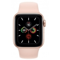 Часы Apple Watch Series 5 40mm Aluminum Pink Sand Sport Band (MWV72)