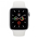 Часы Apple Watch Series 5 44mm Aluminum White Sport Band (MWVD2)
