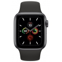 Часы Apple Watch Series 5 44mm Aluminum Black Sport Band (MWVF2)