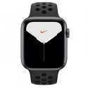 Часы Apple Watch Series 5 44mm Aluminum Nike+ Anthracite/Black Nike Sport Band (MX3W2)